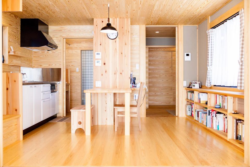 小さな木の家|春日井市 6