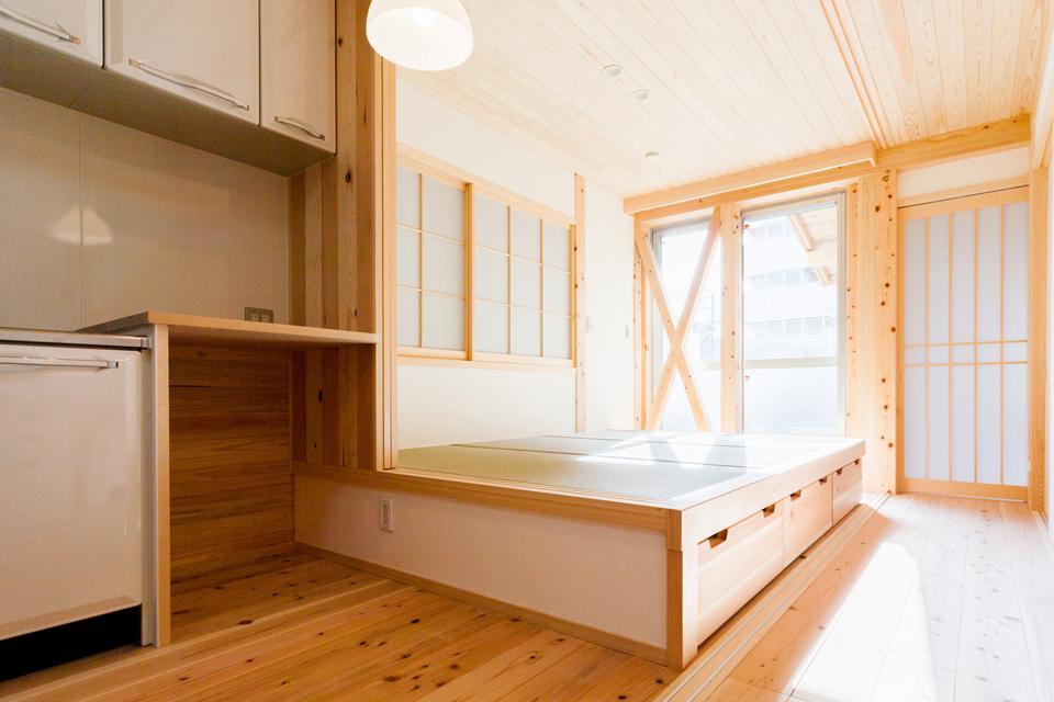 小さな木の家|名古屋市瑞穂区1